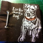 1. Cover of Lucky Ducky Dog Book