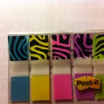 5. close-up of postit notes print