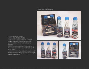Bottle label and Packaging