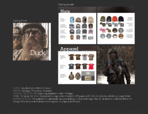 Duck Commander: Catalog Cover, and spreads