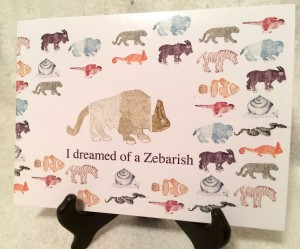 I dreamed of a Zebrish